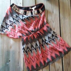 Chelsea & Violet one shoulder dress